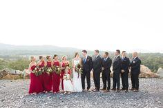 Amanda + Matt | A Gorgeous Blue Valley Winery Wedding | Candice Adelle Photography | VA MD DC Photographer