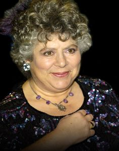 Miriam Margolyes~ great actress, funny lady.