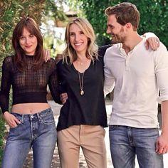 Dakota, Sam y Jamie