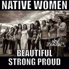 Native American women.