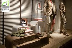Massimo Dutti windows 2014 Spring, Budapest