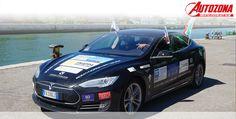 Una missione possibile tra Roma-Capo Nord e Capo Nord-Venezia, a bordo di una Tesla Model S, a zero emissioni
