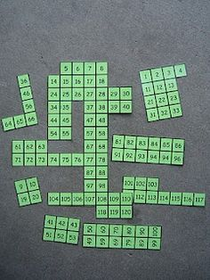Make Puzzles Out Of 100 Charts!: