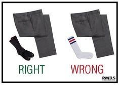 Men's fashion rules can be quite subjective. But a few menswear guidelines shouldn't be broken. Here are the top 5 style mistakes men make. Men's style fau pas to avoid. Best Socks For Running, Real Men Real Style, Herren Style, Cool Socks, Men's Socks, Men Style Tips, Victorian Fashion, Fashion 1920s, Fashion Plates