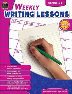 (Elle)Weekly Writing Lessons Grades 5-6