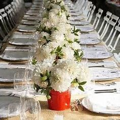 centerpieces in small pails - - Yahoo Image Search Results