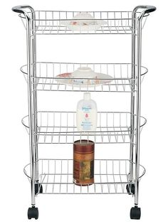 Features:  -4 Open shelves provide easy and visible access to stored items…