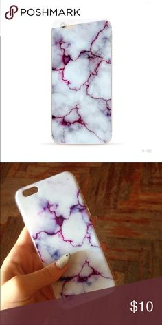 • Marble Design Cellphone Case • Brand new in package! Soft silicon material, fits iPhone 6/6s  Accessories Phone Cases