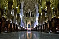 St Patrick's cathedral interior (Dublin)