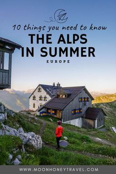 Your guide to visiting the European Alps in Summer. Find out how to experience Europe's largest mountain chain. Tips on what to do, what to experience, where to go, and how to stay safe. #alps #europe #mountains #summer Hiking Food, Hiking Trails, Scotland Hiking, Waterfall Trail, Hiking Europe, Austria Travel, Top Destinations, Best Hikes, Hiking Equipment