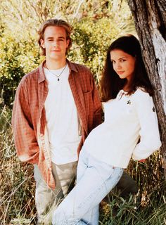 Dawson's Creek- Dawson and Joey. I wanted to be Joey and have my own Dawson.