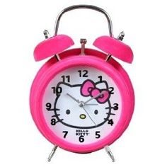 Hello Kitty makes waking up so much more fun.