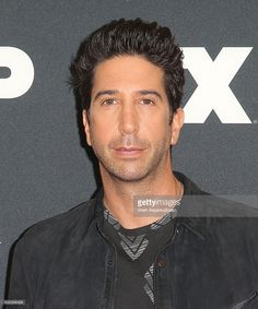 Actor David Schwimmer attends the FX TCA Winter Press Tour Panel at Langham…