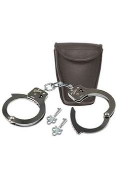 $15.00 Promotional W Case Handcuffs| http://gorillasurplus.com