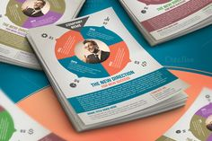 Clean Corporate Flyer by mohamed abdel aal on Creative Market