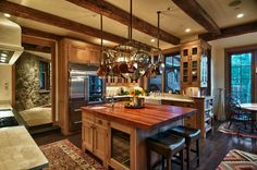 The Red Bell Ranch Steamboat Springs Colorado   Kitchen