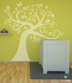stickerboom / kleur naar wens