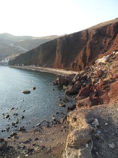 Red-Beach - Santorini - Greece