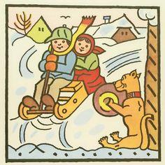 Josef Lada. Kids. undated Russian Art, Children's Book Illustration, Statues, Childrens Books, Illustrators, Folk Art, Fairy Tales, The Past, History