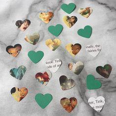 This pack contains approx 100 pieces of confetti which has been lovingly hand punched from the Disney Book Tinkerbell Fairies. Each heart measures approx 1 inch and in each pack you will receive 100 pieces of confetti. This confetti would be great for scattering on tables as decorations or sprinkling on the floor. You can also use them for paper craft and scrapbooking *By purchasing from BookCornerBunting you are helping to rescue old, unwanted or damaged books that wouldve been destined…