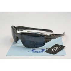 Counterfeit Oakley Split Jacket Sunglasses matte black grey frames black lens | See more about matte black, oakley and sunglasses.