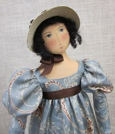 "Jane Austen ""Lizzy"" doll"