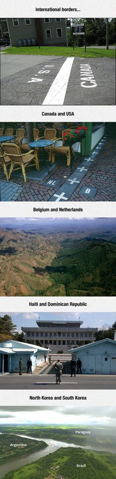 International borders (part 1/2; part 2 here https://www.pinterest.com/pin/109634572156004602/ )