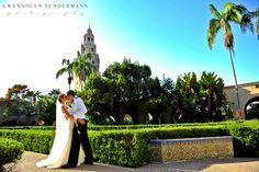 Balboa Park Wedding Photos San Diego