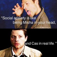 Holy crap! So true!!!! Misha Collins #MishaCollins Castiel #Castiel #SPN