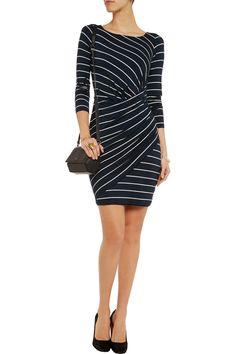 Bailey 44Vertical Drop striped stretch-jersey dress