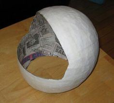 Make an astronaut helmet