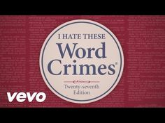 Crimes Against Grammar | Laura Randazzo – Solutions for the Secondary Classroom
