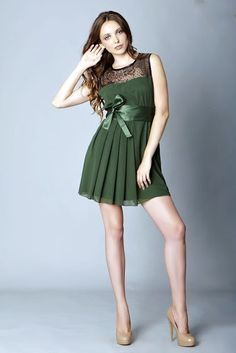 Vestido de encaje para fiesta - Viste a la Moda, Moda y tendencias, Moda juvenil, Moda 2013, colecciones de temporada