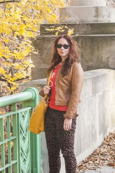 perfect leopard pants