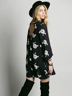 Free People Embroidered Austin Dress, руб 9174.79