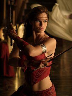 "Jennifer Garner as ""Elektra"","
