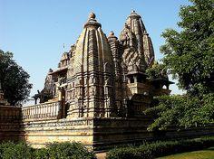 Temple in Khajuraho by foje64, via Flickr