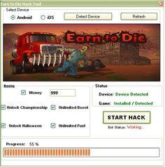 New Earn to Die Hack download updated. Earn to Die Hack 2016 download tool. Free download of Earn to Die Hack.