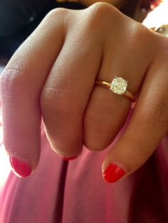 Solitaire engagement rings... « Weddingbee Boards