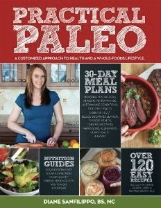 Practical Paleo... The best cookbook. Been cooking all dinners from this for 2 months. Love every recipe esp. Bacon wrapped pecan filled dates...absolutely delicious!