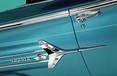 1960 Chevrolet Impala Fender Garnish 04 1960 Chevy Impala, Chevrolet Impala, 1964 Ford, Rockford Fosgate, Impalas, Mini Trucks, 16 Year Old, Car Detailing, Monte Carlo