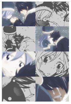 Gruvia (Anime v. Manga)