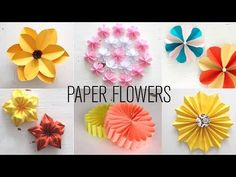 How To Make Flower Paper Origami How To Make A Paper Flower Origami Flower Tutorial Very Easy But Cute With One Piece Of Paper. How To Make Flower Paper Origami Paper Flower Tutorial Origami Easy. How To Make Flower Paper… Continue Reading → Kids Crafts, Easy Paper Crafts, Diy And Crafts Sewing, Crafts For Girls, Easy Diy Crafts, Diy Paper, Crafts To Sell, Tissue Paper, Paper Art