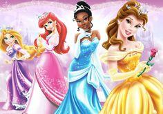 Disney princesses princess deviant art rapunzel ariel tiana belle