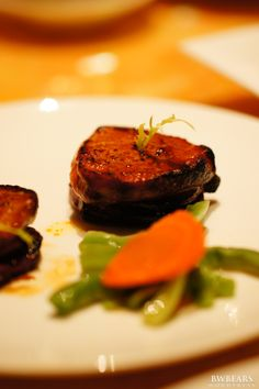 Barbecued Pork with Foie Gras