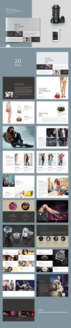 Tri-fold brochure for business-V54 Brochure design and Brochures - fashion design brochure template