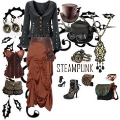 Steampunk Western Style, Just for Fun