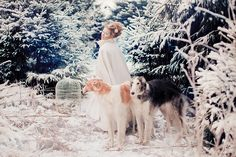 Snow queen. Ideas for senior and kids photosessions.
