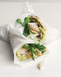 Turkey, Avocado, and Cress Wrap - Martha Stewart Recipes