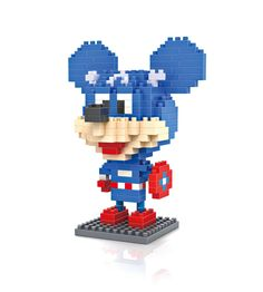 LOZ Captain America Mickey Building Blocks //Price: $5.95 & FREE Shipping //     #loz #lozblocks #toys #kids #building #blocks #lego
